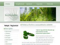 Weboldal készítése kertfuvesites.hu