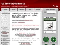 Weboldal készítése szemelyisegkalauz.hu